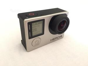 Gopro hero 4 silver edition + accessori