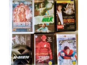 Grandi film supereroi in vhs originali