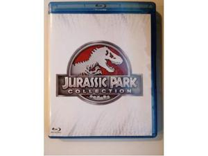 Jurassic park Cofanetto 4 blu ray disc