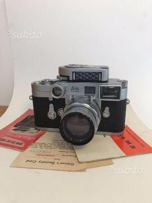 Leica m);Summicron f/2 50mm;Leica Meter;O