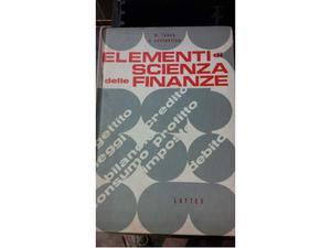 Libro elementi di scienza delle finanze