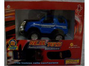 Macchina polizia radiocomandata reel toys