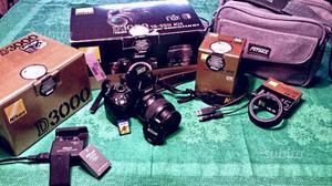 Nikon Dmm, borsa, accessori + REGALO