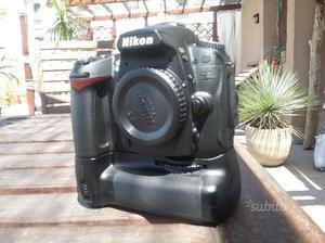 Nikon d90 + mb-d80