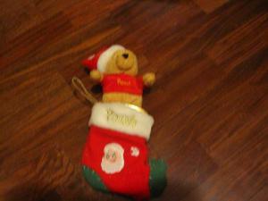 Peluche natalizio Winnie the pooh