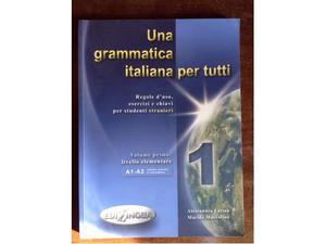 Una grammatica italiana per tutti, in ottimo stato