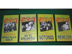 VHS Hitchcock Collection