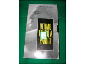 VHS Ultimo tango a Parigi