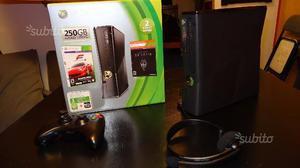 Xbox 360 slim 250 gb con giochi nuova