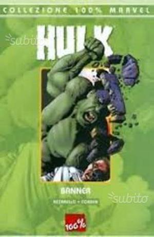 100 % Marvel - HULK - Banner - DA EDICOLA