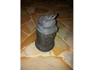 Antico peso contrappeso in ferro per bascula/stadera