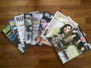 Arretrati riviste musicali Rumore e Rockstar