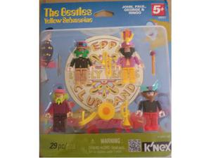 Beatles Yellow Submarine minifigure K'nex nuovo, MISB