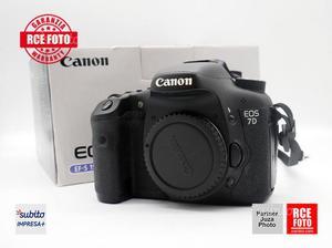 Canon 7D - RCE ROVIGO