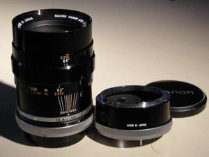 Canon Ottica Macro 50mm F.3,5 come Nuovo anni70