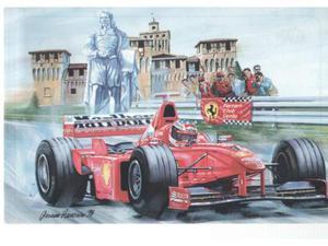 Cartoline I 100 anni di Enzo Ferrari