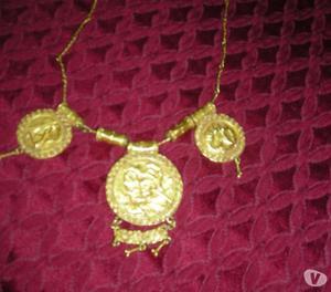 Collana antica in oro zecchino 24 carati