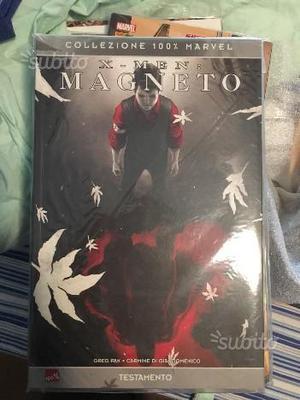 Collezione 100% Marvel -Magneto: testamento NUOVO