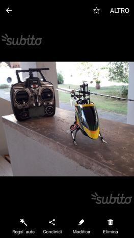 Elicottero 4 canali WL V912 con sparamissili