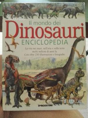 Enciclopedia sui dinosauri per bambini e ragazzi