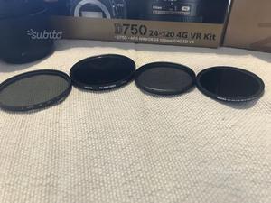 Filtro ND e polarizzatori 67mm 77mm