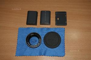 Grandangolo 34 mm Canon - Batteria Canon NB-2LH