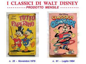 I Classici di Walt Disney - Topolino - n. 16 pezzi