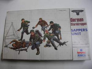 Kit figurini militari tedeschi -ditta esci