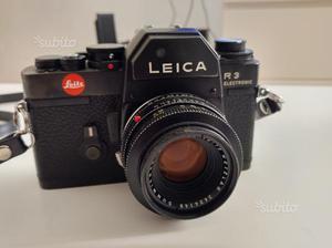 Leica R3 con Summicron R 50 f2 e Leitz Macrotar
