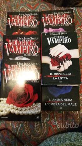 """Libri """"il diario del vampiro"""""""