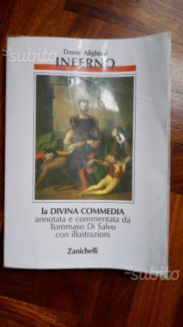 Libri scolastici Divina Commedia Dante