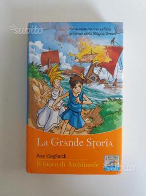 """Libro """"Il fuoco di Archimede"""" di Ave Gagliardi"""