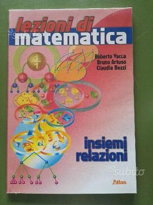Libro di insiemistica ''lezioni di matematica''