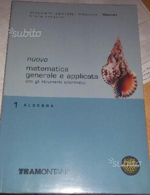 Libro di matematica algebra