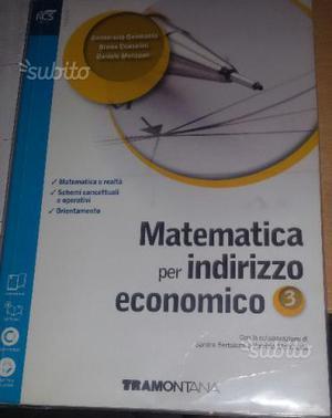 Libro di matematica per quinta superiore
