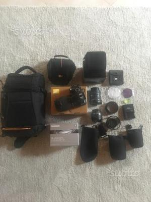 Reflex Nikon + obbiettivi