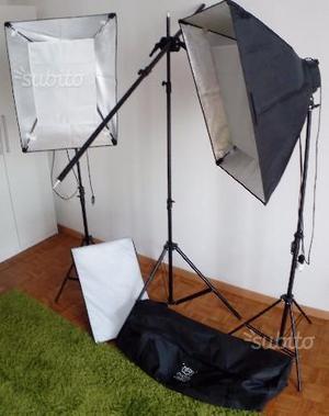 Set Lampade Studio Fotografico