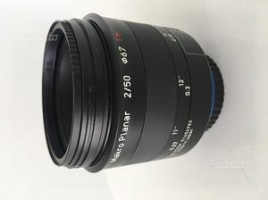 Zeiss Milvus 50mm f/2M Canon 50mm fowa makro