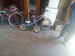 2 biciclette per bambini