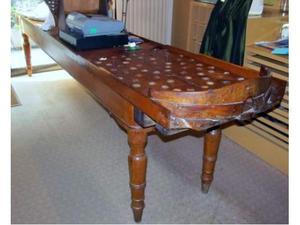 Antico tavolo gioco boccette