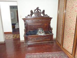 Cassapanca primi 900, stile gotico