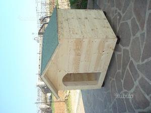 Cuccia NUOVA in legno per cani di grande taglia