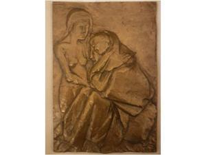 Scultura in bronzo Messina