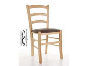 Sedia david in legno di olmo grigio naturale cm posot class for Sedia academy w