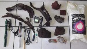 Set di accessori per acquario