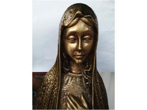 Statua Madonnina in bronzo