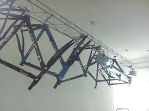Telaio bici da corsa nuovo in carbonio e/o alluminio