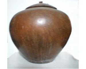 Vaso in terracotta (Indonesia)