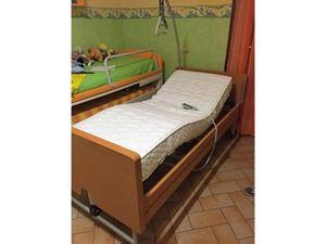 Letto ortopedico elettrico vermeiren posot class - Letto elettrico per disabili usato ...