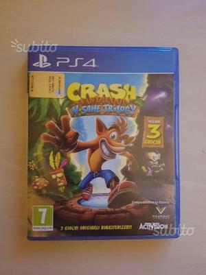 Crash Bandicoot N'sane Trilogy per PS4